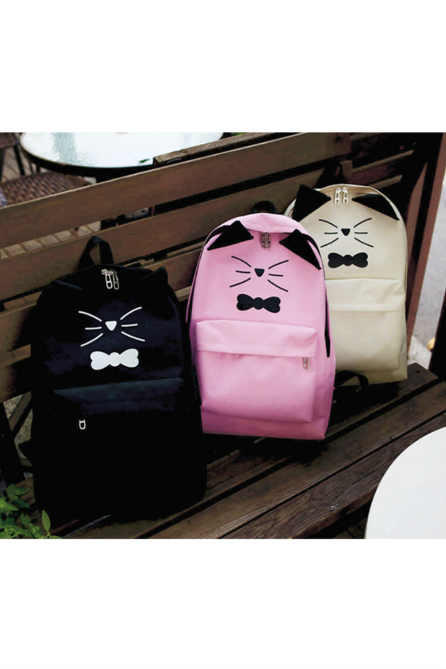 Meow Cute Cat Backpack