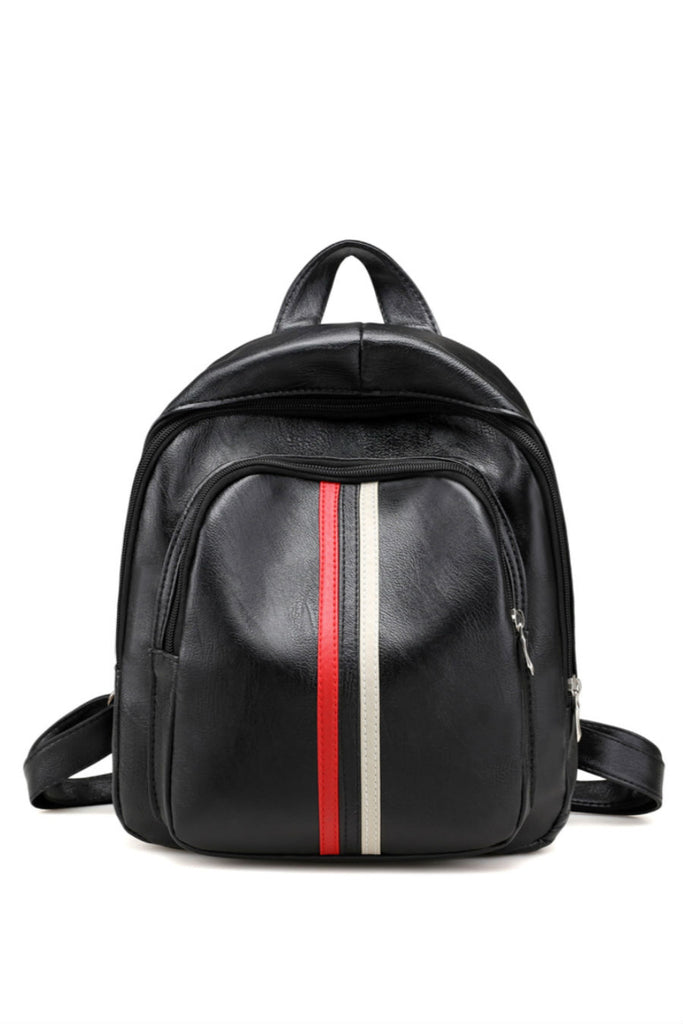 Classic Stripe Travel Backpack