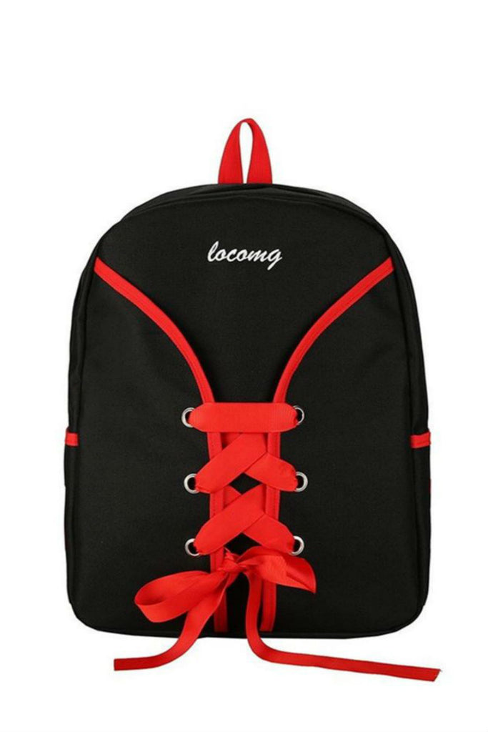 90s Lace Up Backpack
