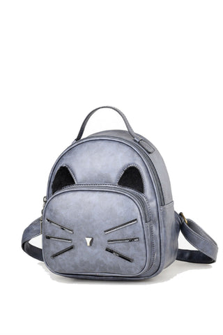 Lovely Cat Mini Backpack