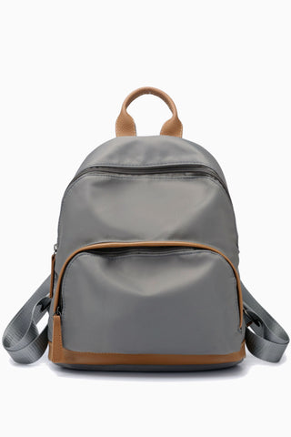 Elegant Minimal Nylon Backpack