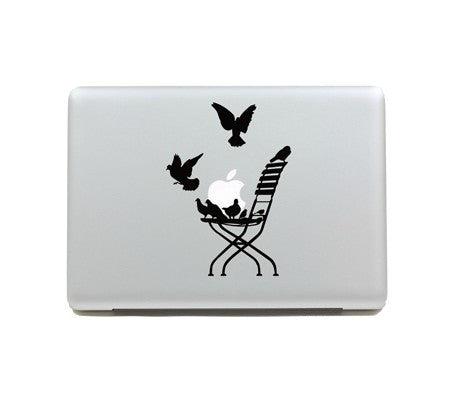 Macbook Birds Decal Sticker. Art Decals By Moooh!!