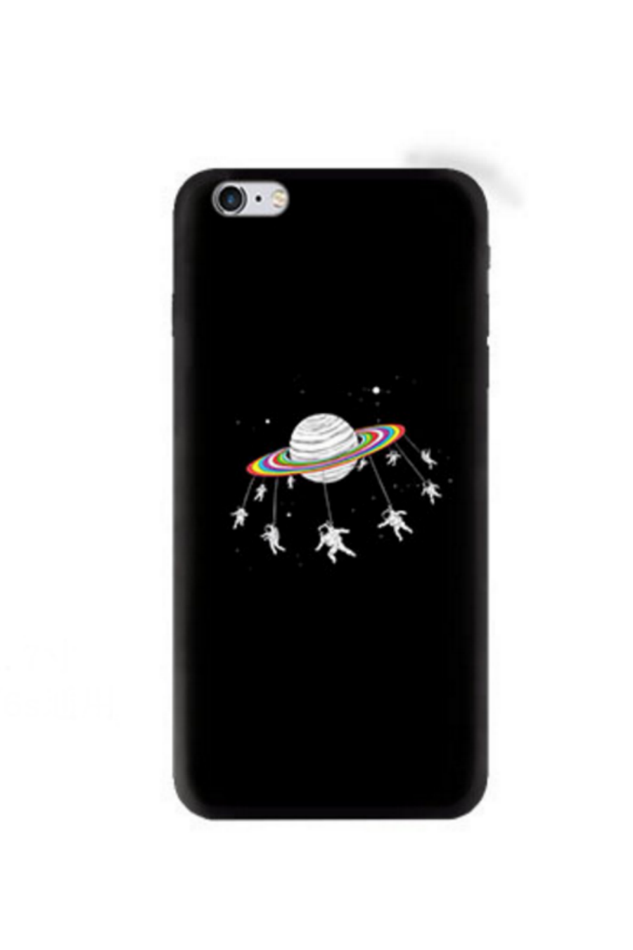 Planet Astronaut Relief Iphone Case