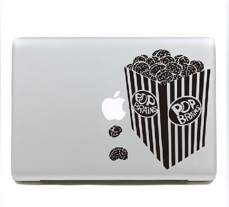 Macbook Pop Corn Decal Sticker. Art Decals By Moooh!!