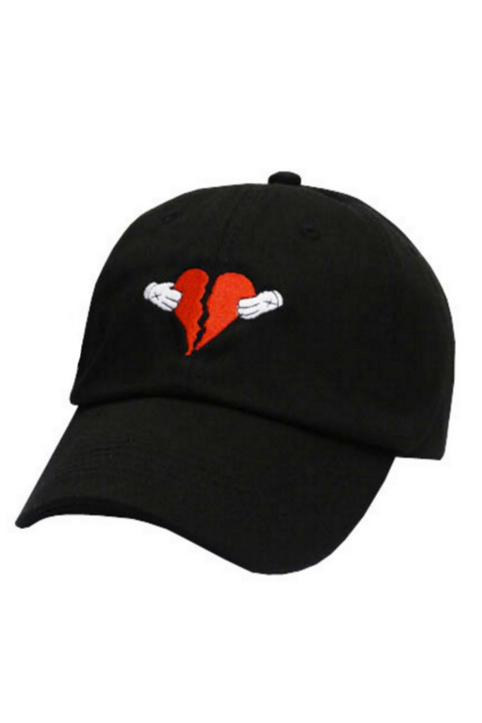 Broken Heart Baseball Hat