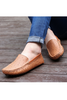 Fashion Brown Driving Moccasin Loafer