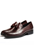 Burgundy Classic Dress Shoes