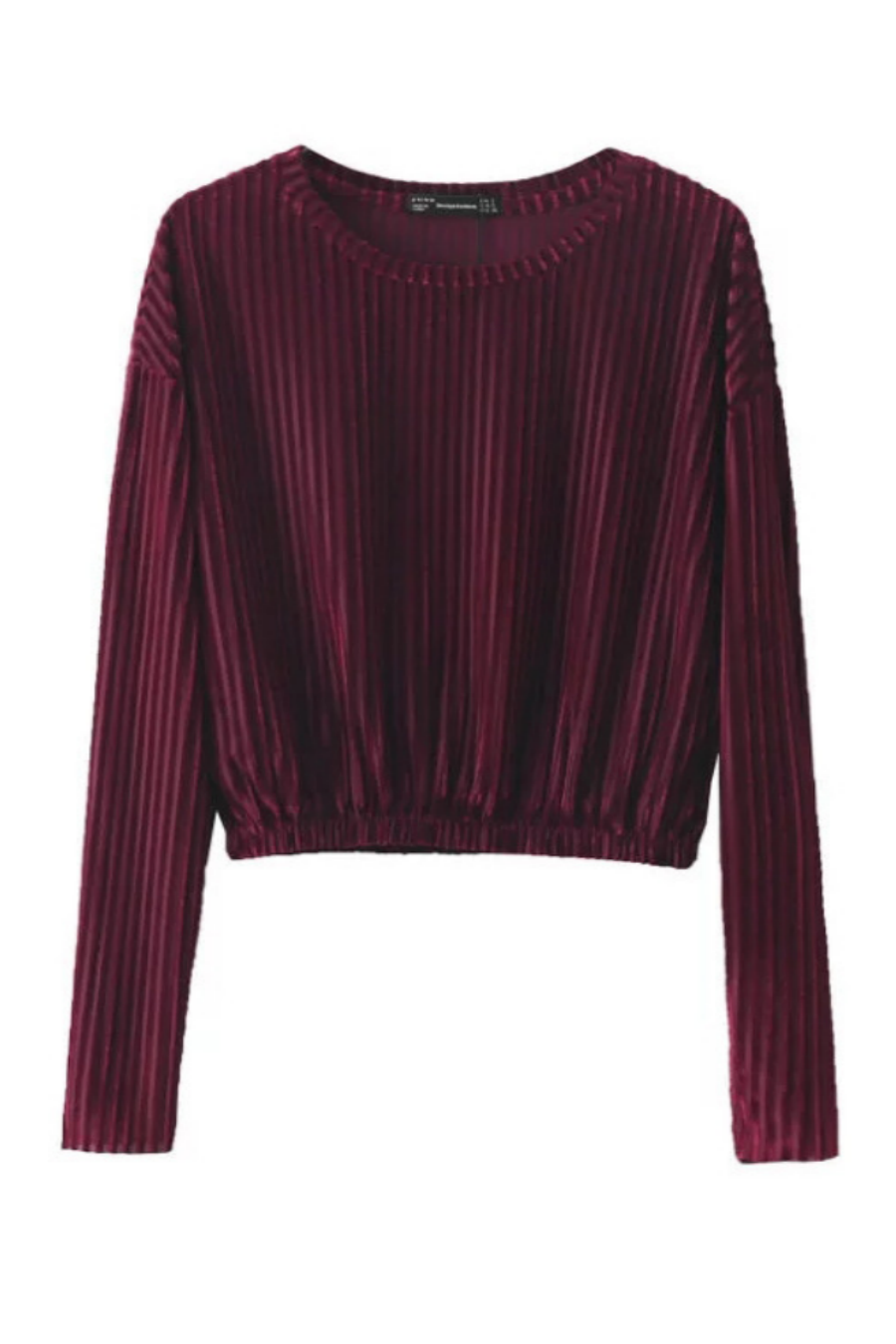 Velvet Long Sleeves Top