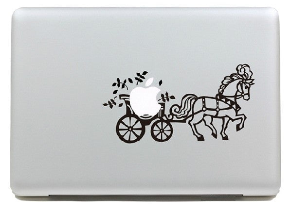 Macbook Carrozza Decal Sticker. Art Decals By Moooh!!