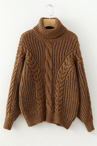 Turtleneck Cable Jumper