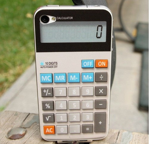 Iphone Calculator Sticker. Art Decals By Moooh!!