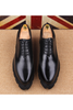 Cap Toe Oxford Shoes In Black