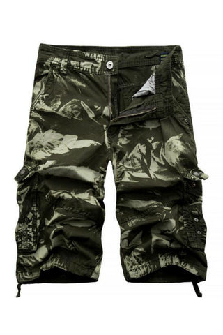 Summer Men's Casual Cargo Shorts