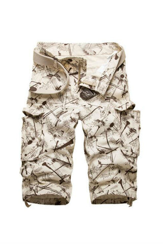 Men's Casual Cargo Shorts