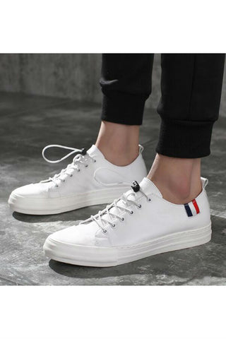 Men's Casual White Sneakers
