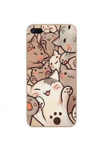 Kitty Cat Relief Iphone Case