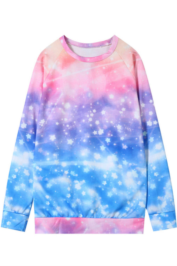 Tie Dye Galaxy Sweater