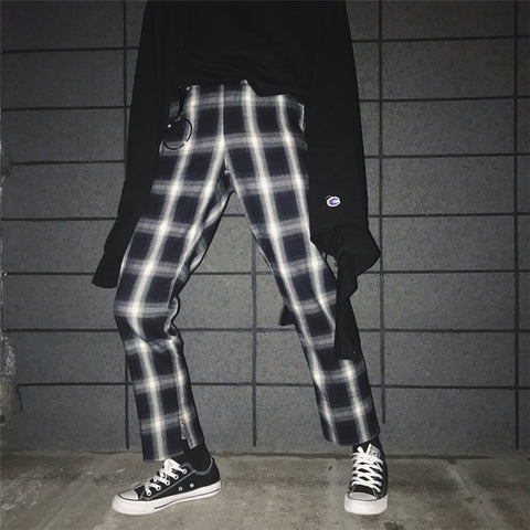 Preppy Plaid Pants