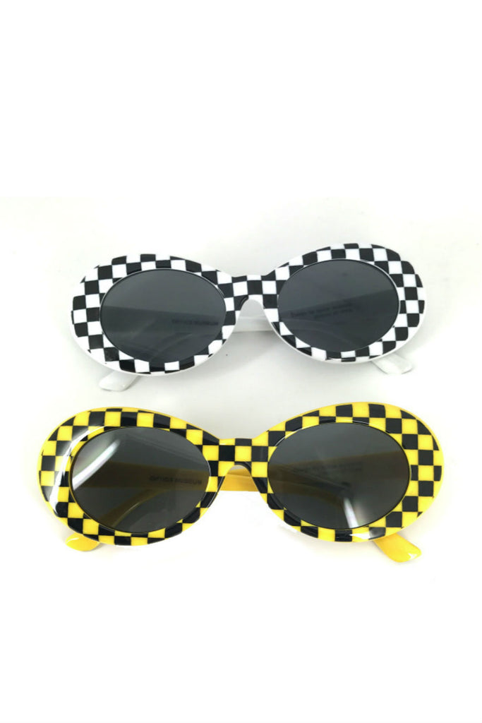 Checker Sunglasses