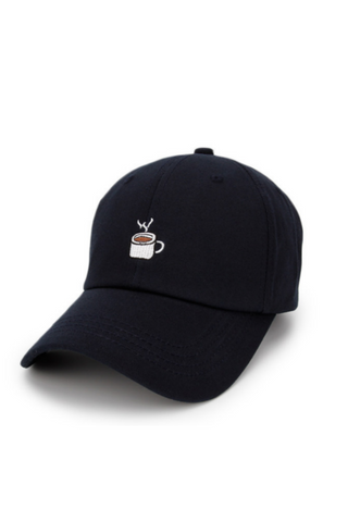 Coffee Embroidered Baseball Hat