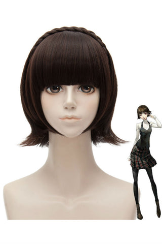 Persona5 Brown Cosplay Wig