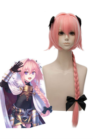 Fate Apocrypha Pink Cosplay Wig