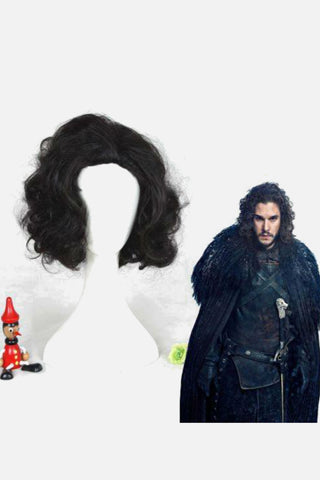 Jon Snow Cosplay Wig