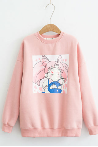 🎀 Sailor Moon Chibi Sweatshirt 🎀