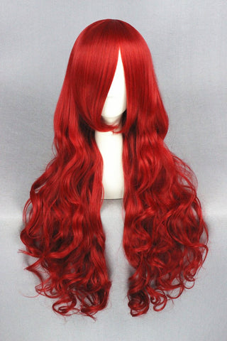 Mermaid Red Cosplay Wig