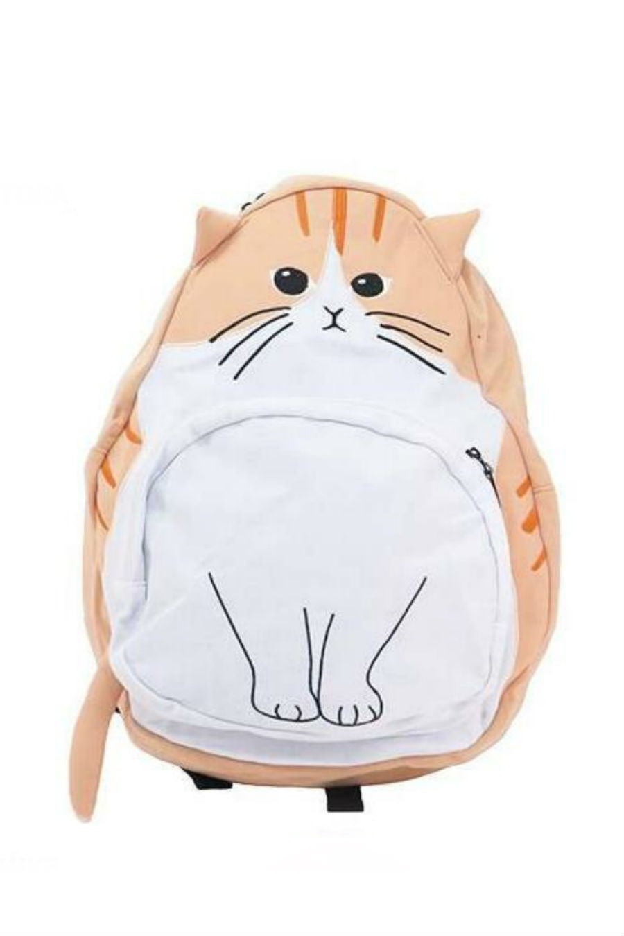 J-fashion Cat Backpack In Tan