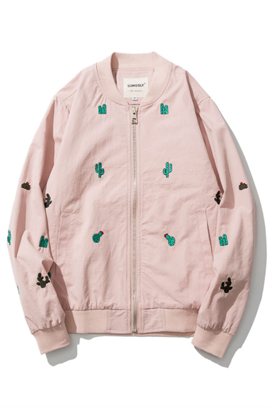 Cactus Embroidered Jacket