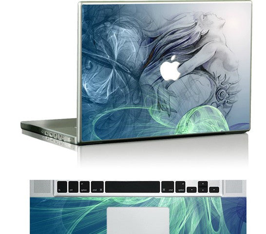 Macbook Donna Decal Skin Sticker. Art Decals By Moooh!!