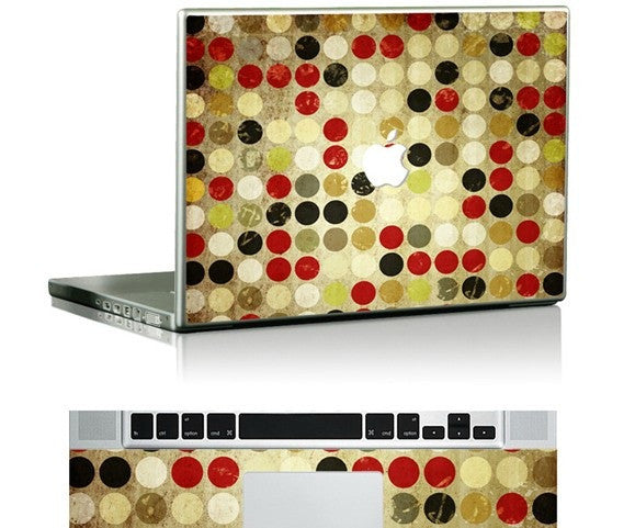 Macbook Dots Skin Decal Sticker. Art Decals By Moooh!!
