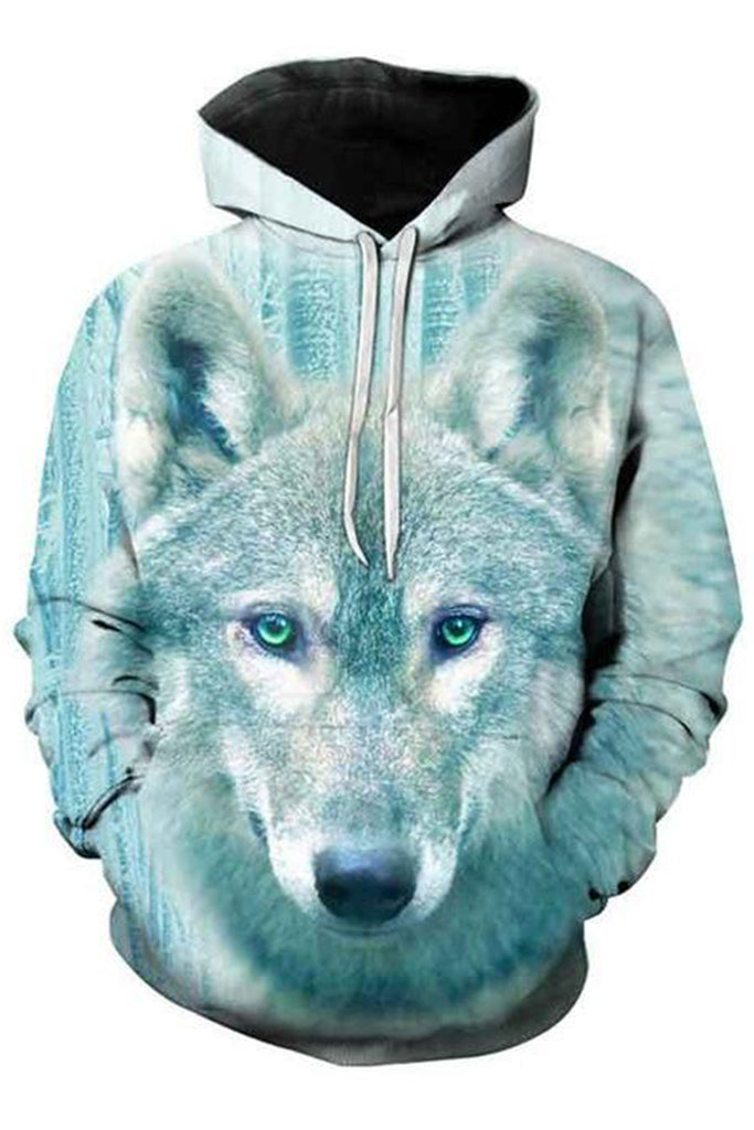 Artic Wolf 3D Hooded Sweater