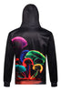 Neon Space 3D Hooded Sweater