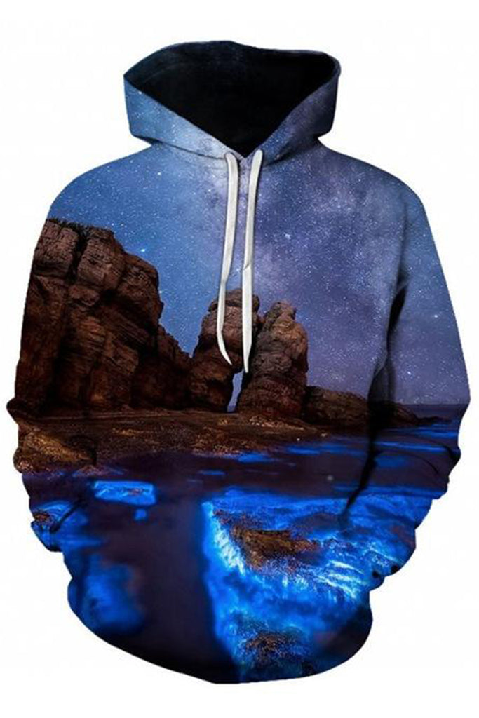 Starry Ocean 3D Hooded Sweater