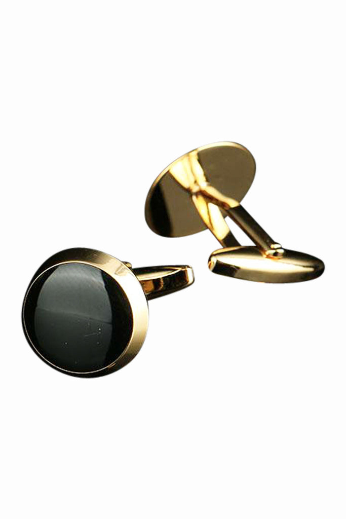 Vintage Stainless Steel Men's Cufflinks