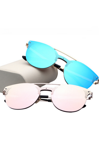 Fashion Reflective Sunglasses
