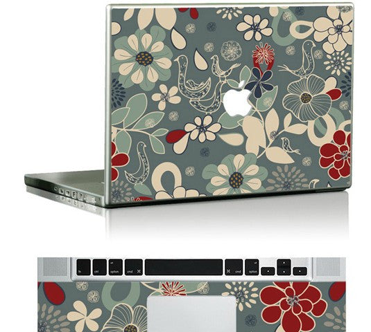 Macbook Natura Skin Sticker. Art Decals By Moooh!!