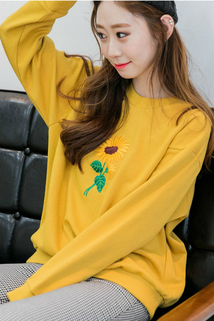 Yellow Sunflower Jumper