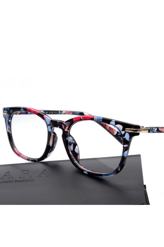 Floral Frame Glasses
