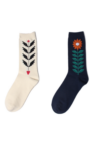 Flower Plant Unisex Socks