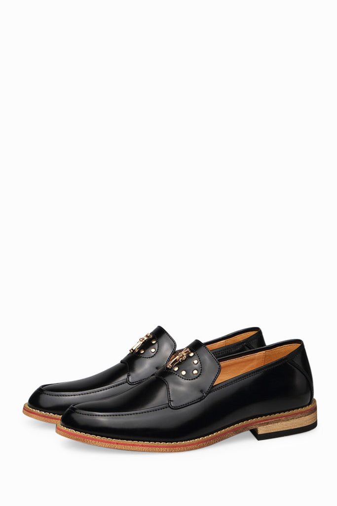 Classic Men's Shoes In Black
