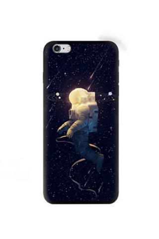 Galaxy Astronaut Relief Iphone Case