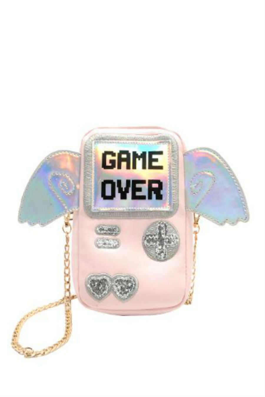Game Over Wings Purse