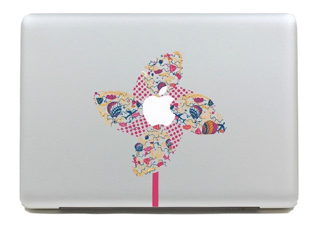 Macbook Girandola Decal Sticker. Art Decals By Moooh!!