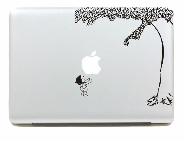 Macbook The Giving Tree Decal Sticker. Art Decals By Moooh!!