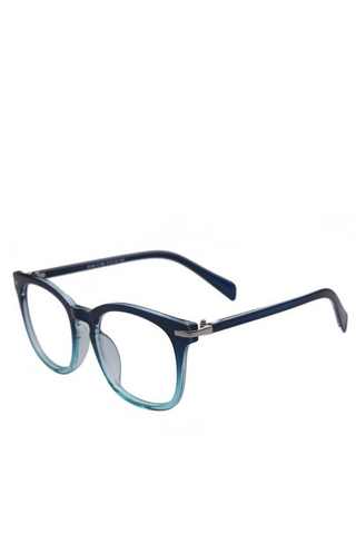 Gradient Frame Fashion Glasses