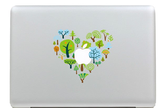 Macbook Love Tree Decal Sticker. Art Decals By Moooh!!