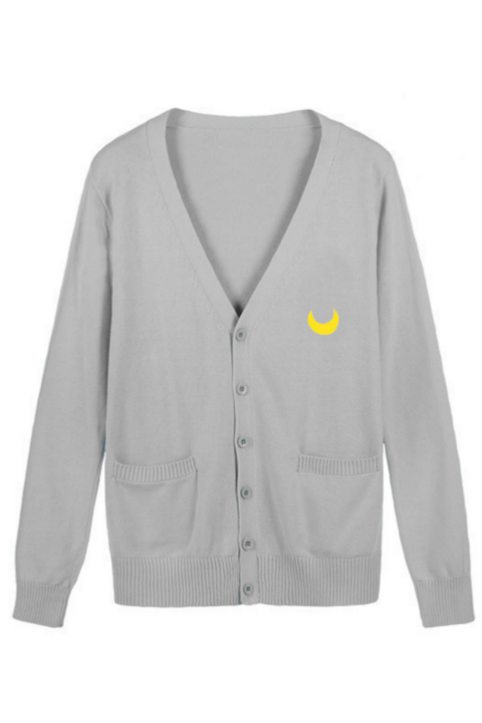 Jfashion Sailor Moon Cardigan In Gray